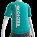 T-shirt du logo Tediore