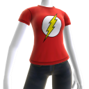 Camiseta com Logotipo do The Flash