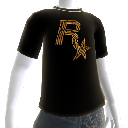 T-shirt met Rockstar-kogel 