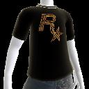 T-shirt logo Balles Rockstar