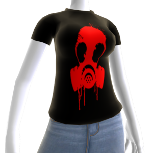 Epic Gas Mask Shirt Red