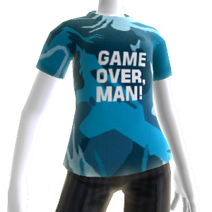 "T-shirt ""Game Over, Man"""
