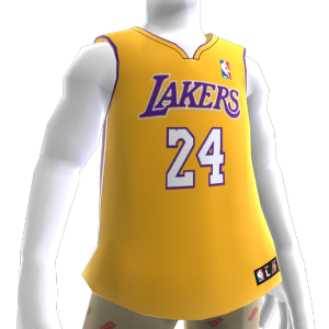 Los Angeles Lakers NBA2K10-Trikot