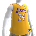Los Angeles Lakers NBA2K10 Jersey>