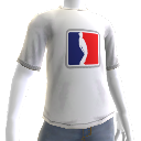 Pwnage Sports White Shirt