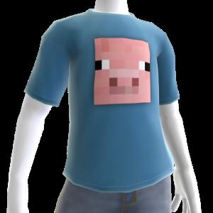 T-shirt maiale
