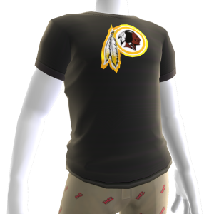 Redskins Gold Trim Tee
