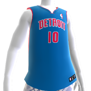 Detroit Pistons NBA 2K13 Jersey