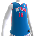 Detroit Pistons NBA 2K13-shirt