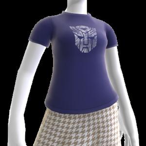 T-shirt avec logo Autobots blanc