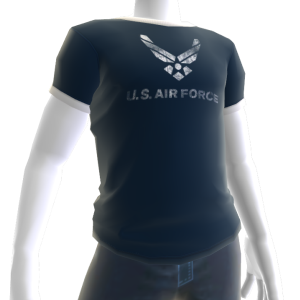 Air Force Tee - Dark Blue