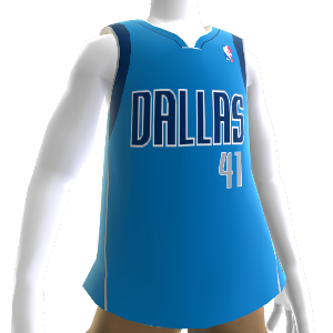 Dallas Mavericks NBA 2K13 Jersey