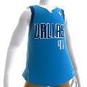 Dallas Mavericks NBA 2K13-trøje