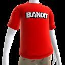 Shirt met Bandit-logo