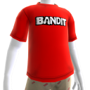 Camiseta con logotipo de bandido