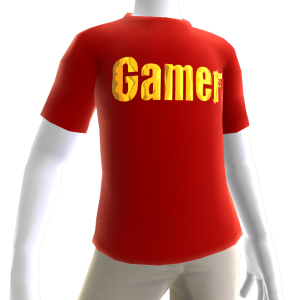 Red Gamer Gold SS Shirt