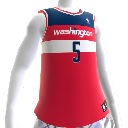 Maillot NBA2K12 Washington Wizards