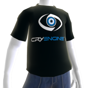 T-Shirt CryENGINE 3