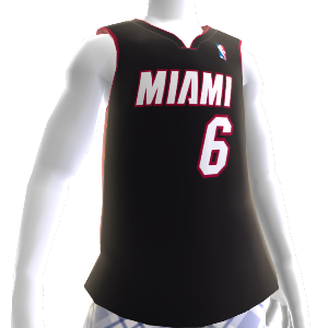 Camiseta NBA 2K13 Miami Heat