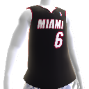 Miami Heat NBA 2K13-trøye