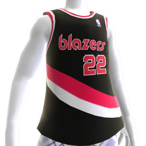 Camiseta Blazers 90-91 Retro NBA 2K13