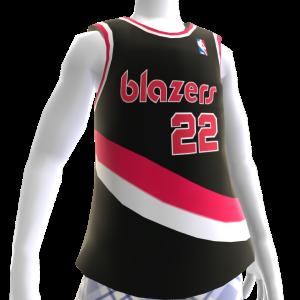 Maillot NBA2K13 rétro Blazers 90-91