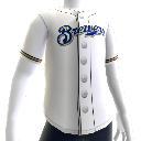 Milwaukee Brewers  MLB2K11-Trikot