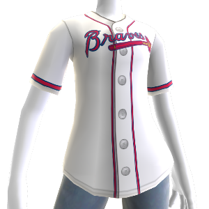 Maillot MLB2K11 Atlanta Braves