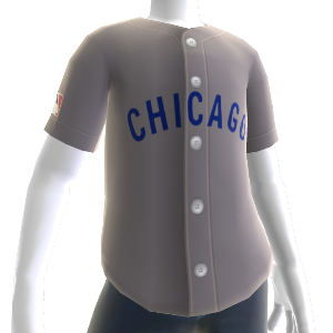 Chicago Cubs Retro Road Jersey