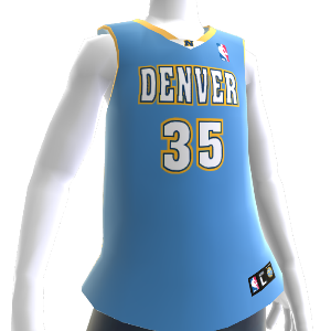 Denver Nuggets NBA 2K14 Jersey