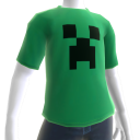 Minecraft Creeper-T-skjorte