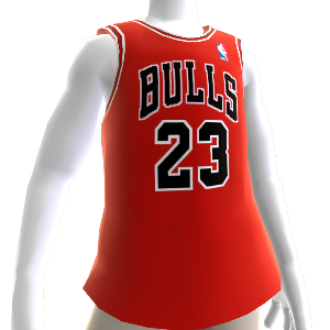 Camiseta NBA 2K13 Bulls 85-86 Retro