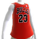 Camiseta Bulls 85-86 Retro NBA 2K13