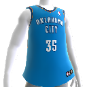 Oklahoma City Thunder NBA 2K13-trøye