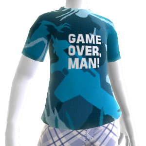 "T-Shirt: ""Game Over, Man"""
