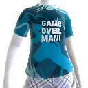 """Game Over, Man""-shirt"