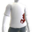 Blood Dragon White Tee