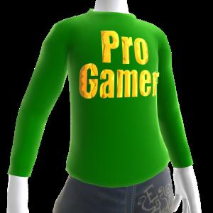 Green Gold Pro Gamer LS Shirt