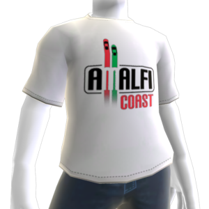 Camiseta de la costa de Amalfi
