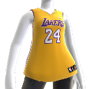 Los Angeles Lakers NBA2K10 Jersey