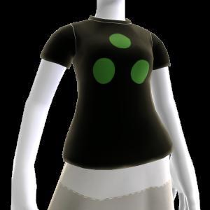 녹색 NVG 도트 티셔츠 (여성용)
