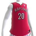 Camis. NBA2K12: Toronto Raptors