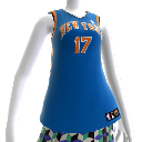 New York Knicks #17 NBA2K12 유니폼