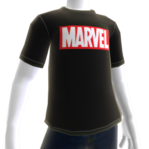 Camiseta logo Marvel