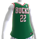 Camiseta NBA2K12 Milwaukee Bucks