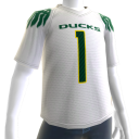 Oregon White Football Jersey