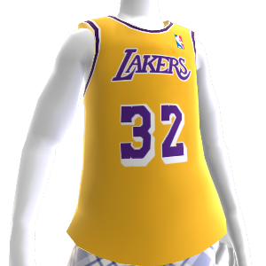Maillot NBA 2K13 rétro Lakers 86-87
