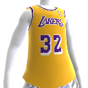 Camiseta Lakers 86-87 Retro NBA 2K13