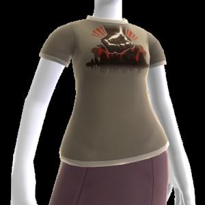 T-shirt de Punho da Agência