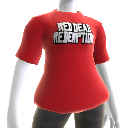 Outlined Red Dead Redemption Logo T-Shirt